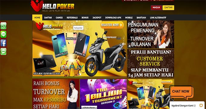 Agen Poker Online Terpercaya Indonesia Helopoker